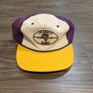 Other - Vintage Los Angeles Rams SnapBack trucker hat